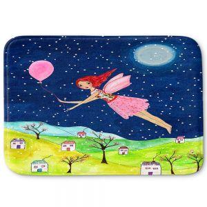 Decorative Bathroom Mats | Sascalia - Snow Fairy | Fairy Childlike Fantasy Holiday Houses