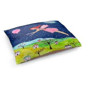Decorative Dog Pet Beds | Sascalia - Snow Fairy | Fairy Childlike Fantasy Holiday Houses