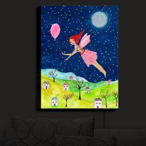 Nightlight Sconce Canvas Light | Sascalia - Snow Fairy