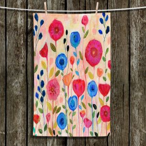 Unique Bathroom Towels | Sascalia - Sway | Florals Boho Chic