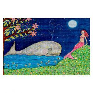 Decorative Floor Coverings | Sascalia Whale Mermaid