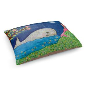 Decorative Dog Pet Beds | Sascalia's Whale Mermaid