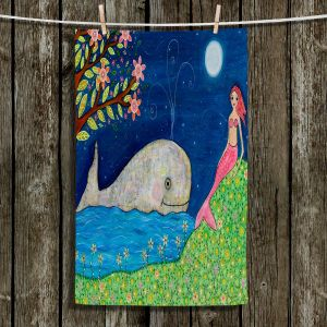 Unique Bathroom Towels | Sascalia - Whale Mermaid