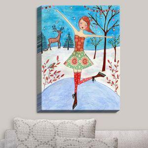 Decorative Canvas Wall Art | Sascalia - Winter Skater