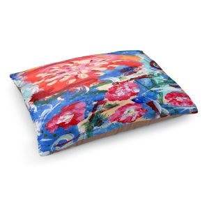 Decorative Dog Pet Beds | Shay Livenspargar - Blooming | Floral Abstract