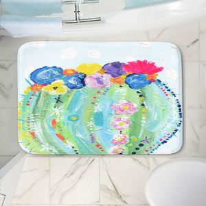 Decorative Bathroom Mats | Shay Livenspargar - Cacti Bloom | Cactus Blooming