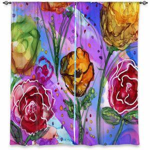 Decorative Window Treatments | Shay Livenspargar - Camargue | Nature Flowers