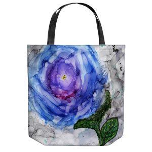 Unique Shoulder Bag Tote Bags | Shay Livenspargar - Cloudy Day | Roses Stem Floral
