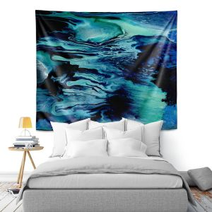 Artistic Wall Tapestry | Shay Livenspargar - Day Dreams | Abstract people