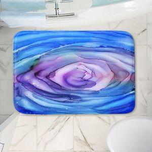 Decorative Bathroom Mats   Shay Livenspargar - Dazzed   Abstract storm eye Hurricane