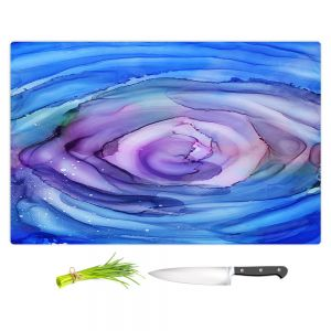Artistic Kitchen Bar Cutting Boards | Shay Livenspargar - Dazzed | Abstract storm eye Hurricane