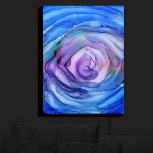 Nightlight Sconce Canvas Light | Shay Livenspargar - Dazzed | Abstract storm eye Hurricane