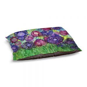 Decorative Dog Pet Beds | Shay Livenspargar - Field of Roses | Flowers Nature Landscapes