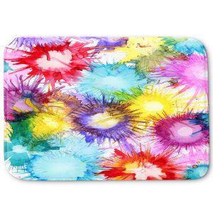 Decorative Bathroom Mats | Shay Livenspargar - Fireworks | 4th of july, abstract