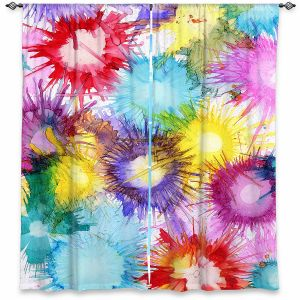 Decorative Window Treatments | Shay Livenspargar - Fireworks | 4th of july, abstract