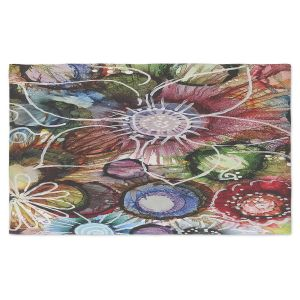 Artistic Pashmina Scarf | Shay Livenspargar - Flowers Abstract | Abstract Flower