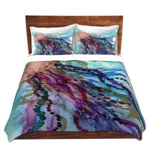 Artistic Duvet Covers and Shams Bedding | Shay Livenspargar - Jellyfish Kisses | Ocean wild life, Octopus