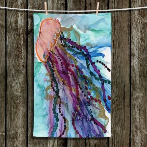 Unique Hanging Tea Towels | Shay Livenspargar - Jellyfish Kisses