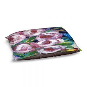 Decorative Dog Pet Beds | Shay Livenspargar - La Roseraie | Nature Flowers