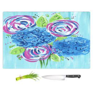Artistic Kitchen Bar Cutting Boards | Shay Livenspargar - Lollipop Garden 2 | Nature Flowers