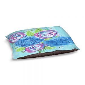 Decorative Dog Pet Beds | Shay Livenspargar - Lollipop Garden 2 | Nature Flowers