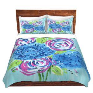 Artistic Duvet Covers and Shams Bedding   Shay Livenspargar - Lollipop Garden 2   Nature Flowers