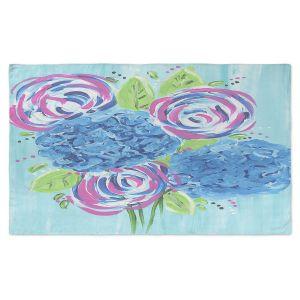 Artistic Pashmina Scarf | Shay Livenspargar - Lollipop Garden 2 | Nature Flowers