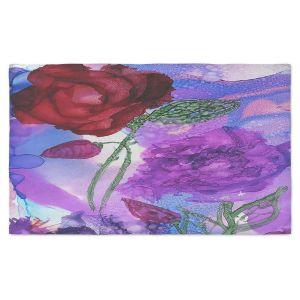 Artistic Pashmina Scarf | Shay Livenspargar - Monets Rose | Nature Flowers