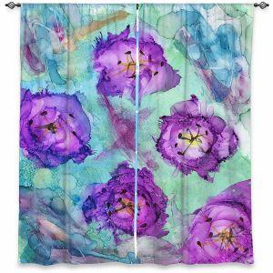 Decorative Window Treatments | Shay Livenspargar - Mystafying | Nature Flowers