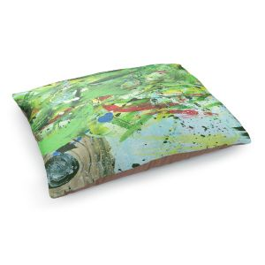 Decorative Dog Pet Beds | Shay Livenspargar - Perched Within | Abstract tree birds
