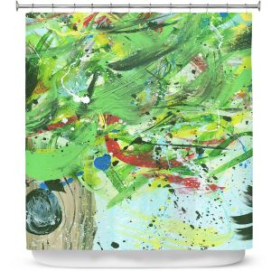 Premium Shower Curtains | Shay Livenspargar - Perched Within