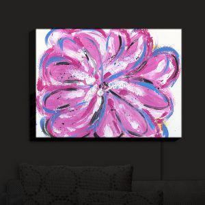 Nightlight Sconce Canvas Light | Shay Livenspargar - Rose Bud | Floral Flowers