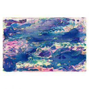 Decorative Floor Covering Mats | Shay Livenspargar - Sea Life | Abstract Ocean