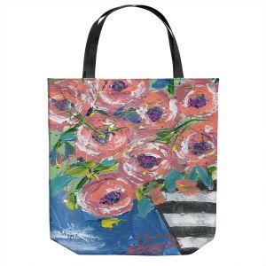 Unique Shoulder Bag Tote Bags | Shay Livenspargar - Shimmer Dance | Flowers Nature Still Life