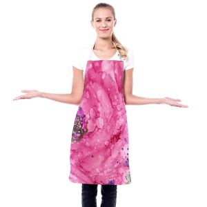 Artistic Bakers Aprons   Shay Livenspargar - Spring Meadow   Flowers Nature Still Life