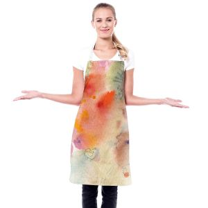 Artistic Bakers Aprons | Sheila Golden - Three Orange Flowers | Flowers Nature