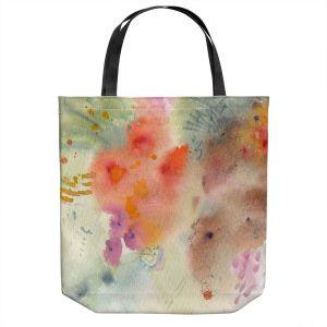 Unique Shoulder Bag Tote Bags | Sheila Golden - Three Orange Flowers | Flowers Nature