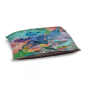 Decorative Dog Pet Beds | Sonia Begley - Coral Reef 1 | Colorful Abstract