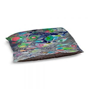 Decorative Dog Pet Beds | Sonia Begley - Coral Reef 2 | Colorful Abstract