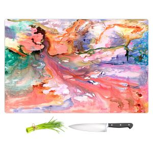 Artistic Kitchen Bar Cutting Boards   Sonia Begley - Paradise Flow   Colorful Abstract