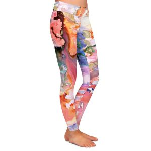 Casual Comfortable Leggings | Sonia Begley - Paradise Flow | Colorful Abstract