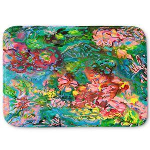 Decorative Bathroom Mats | Sonia Begley - Tropical Rainforest Blooms | Jungle Flowers