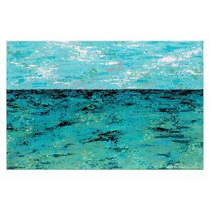 Decorative Floor Covering Mats | Sue Allemand - Coastal Sea Dreams | Ocean Abstract