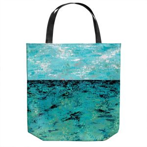 Unique Shoulder Bag Tote Bags | Sue Allemand - Coastal Sea Dreams | Ocean Abstract