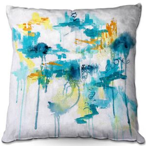 Throw Pillows Decorative Artistic | Sue Allemand - Projection | Colorful abstract