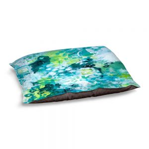 Decorative Dog Pet Beds | Sue Allemand - Safe Harbor | Colorful abstract