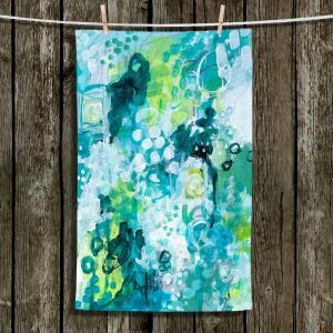 Unique Bathroom Towels | Sue Allemand - Safe Harbor | Colorful abstract