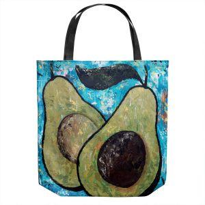Unique Shoulder Bag Tote Bags | Sue Allemand - Sustenance | Avocado fruit still life