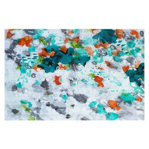 Decorative Floor Covering Mats | Sue Allemand - Today is the Day | Colorful abstract