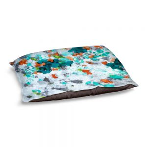 Decorative Dog Pet Beds | Sue Allemand - Today is the Day | Colorful abstract